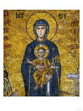 Madonna and Child, from the Votive Mosaic in the South Gallery, Byzantine, 12th Century Giclee Print