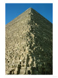 A Corner of the Pyramid of Mycerinus (Menkaure) (26th BCE) Giclee Print
