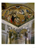 The Nativity, Mosaic and Interior of the Church, 11th circa CE Giclee Print