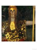 Pallas Athene, 1898 Giclee Print by Gustav Klimt