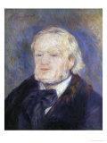 Richard Wagner, 1882 Giclee Print by Pierre-Auguste Renoir