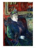 Madame De Gortzikoff, 1893 Lámina giclée por Henri de Toulouse-Lautrec