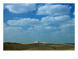 Three Smaller Pyramids in the Desert South of Gizeh, Egyptian, Old Kingdom, 26th BCE Giclee Print