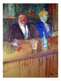 At the Bar, 1898 Giclee Print by Henri de Toulouse-Lautrec