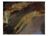 Bewegtes Wasser (Moving Water) Lámina giclée por Gustav Klimt