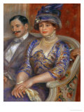 M. and Mme. Bernheim De Villers, 1910 Giclee Print by Pierre-Auguste Renoir