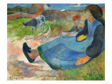 The Cowherd or Young Woman from Brittany, 1889 Giclee Print by Paul Gauguin