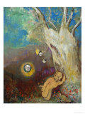 Caliban's Sleep (Shakespeare, the Tempest), 1895-1900 Giclee Print by Odilon Redon