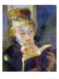 The Reader (La Liseuse), 1874-1876 Giclee Print by Pierre-Auguste Renoir