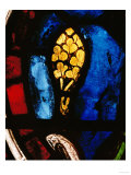 A Tree Emerges from the Flood, Stained Glass Giclee Print