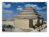 Pharaoh Zozer&#39;s Step Pyramid Giclee Print