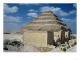 Pharaoh Zozer's Step Pyramid Giclee Print