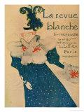 La Revue Blanche, 1895 Giclee Print by Henri de Toulouse-Lautrec