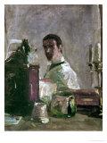 Self-Portrait, 1880 Giclee Print by Henri de Toulouse-Lautrec