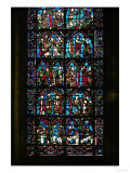 Gothic Stained Glass, the History of Saint Cheron Giclee Print
