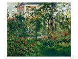 The Bellevue Garden, 1880 Giclée-Druck von Édouard Manet