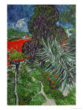Dr. Paul Gachet's Garden at Auvers-Sur-Oise, c.1890 Giclée-Druck von Vincent van Gogh
