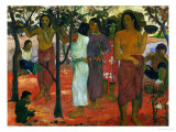 Nave Nave Nahana (Delicious Day), 1896 Giclée-Druck von Paul Gauguin