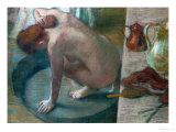 The Tub (Bathing Woman), 1886 Giclee Print by Edgar Degas