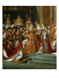 Coronation of Napoleon, Detail Giclee Print by Jacques-Louis David