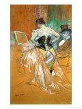 Woman in a Corset Giclee Print by Henri de Toulouse-Lautrec