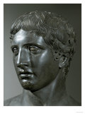 Head of the Doryphoros (Spearman) by Poliklet Reproduction proc&#233;d&#233; gicl&#233;e