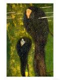 Nixen, Silberfische (Water Nymphs, Silverfish), 1894 Giclee Print by Gustav Klimt