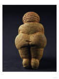 Venus of Willendorf (Back View), Limestone, Aurignacian (Late Paleolithic) Reproduction proc&#233;d&#233; gicl&#233;e