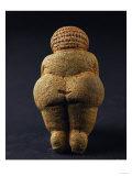 Venus of Willendorf (Back View), Limestone, Aurignacian (Late Paleolithic) Giclee Print