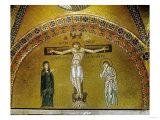 Crucifixion, Mosaic, Byzantine, 11th CE Giclee Print