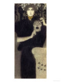 Study for the Allegory of Tragedy Gicl&#233;e-Druck von Gustav Klimt
