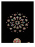 West Rose Window with the Last Judgment Giclee Print