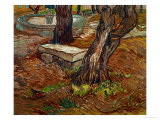 The Bench of Saint-Remy, c.1889 Reproduction procédé giclée par Vincent van Gogh