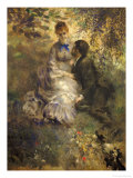 The Lovers, 1875 Giclee Print by Pierre-Auguste Renoir