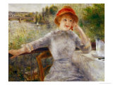 Alphonsine Fournaise (1845-1937) Giclee Print by Pierre-Auguste Renoir