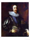 Workshop Of Charles I, King of England Giclée-Druck von Sir Anthony Van Dyck