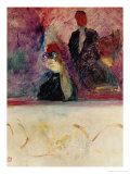 The Theatre Box with the Gilded Mask Giclee Print by Henri de Toulouse-Lautrec