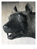 She-Wolf Suckling Romulus and Remus (Mythical Founders of Rome) Giclee Print