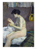 Study of Nude, 1880 Giclee Print by Paul Gauguin