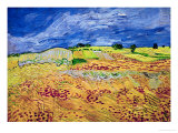The Plain at Auvers, c.1890 Giclee Print by Vincent van Gogh