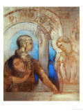The Mystic Knight Giclee Print by Odilon Redon