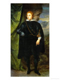 Prince Karl Ludwig of Palatinate (1617-1680), Son of the Winterking Friedrich V. Giclee Print by Sir Anthony Van Dyck