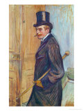 Louis Pascal, a Cousin of the Painter, 1893 Giclee Print by Henri de Toulouse-Lautrec