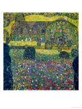 Country House on Attersee Lake, Upper Austria, 1914 Gicl&#233;e-Druck von Gustav Klimt