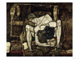 Blind Mother or the Mother, 1914 Giclee Print by Egon Schiele
