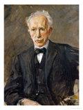 Composer Richard Strauss (1864-1949) Giclée-tryk af Max Liebermann