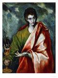 Saint John Evangelist, circa 1600 Giclee Print by  El Greco