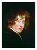 Anthonis Van Dyck, Self-Portrait Giclée-Druck von Sir Anthony Van Dyck