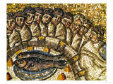Mosaic of the Apostles and Fish Giclee Print