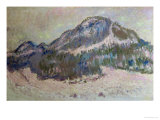 Mount Kolsaas in Norway, 1895 Giclee Print by Claude Monet